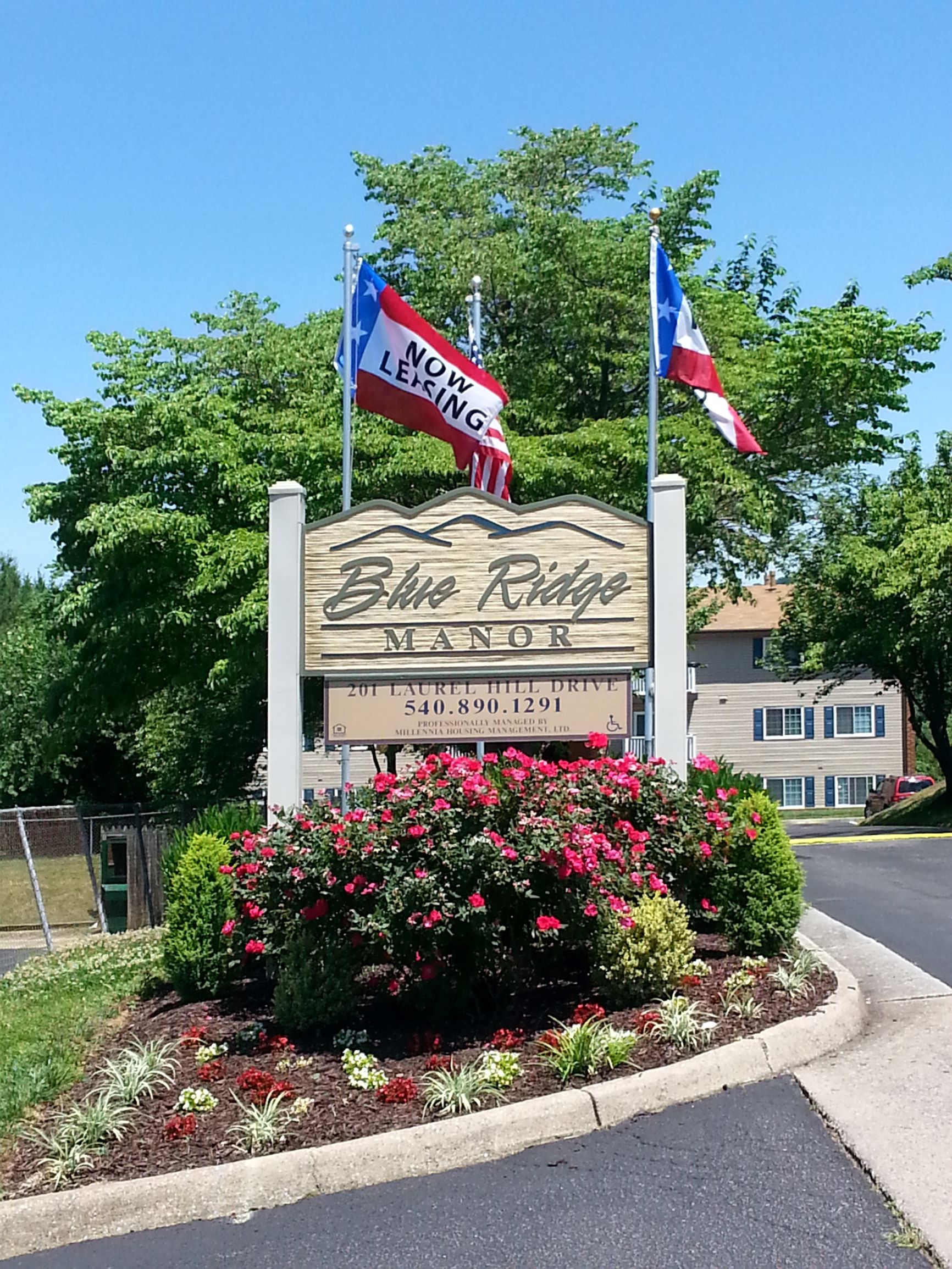 Blue Ridge Manor Sign